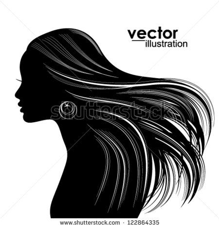 Classy clipart margin Best Hair Pinterest references Woman