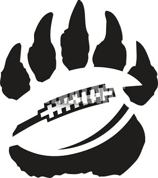 Paw clipart panthers Ideas Best football Nc 25+