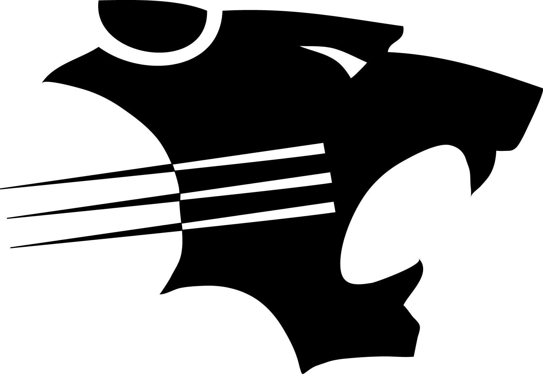 Panther clipart logo #3