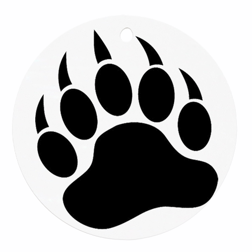Wolverine clipart paw Clipart Images Print Grizzly Bear