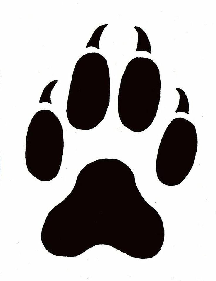 Wildcat clipart cat's paw Free  library Pin Free