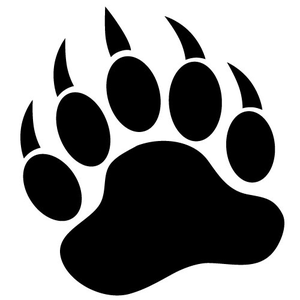 Footprint clipart black bear Clipart claw%20clipart Clipart Images Free