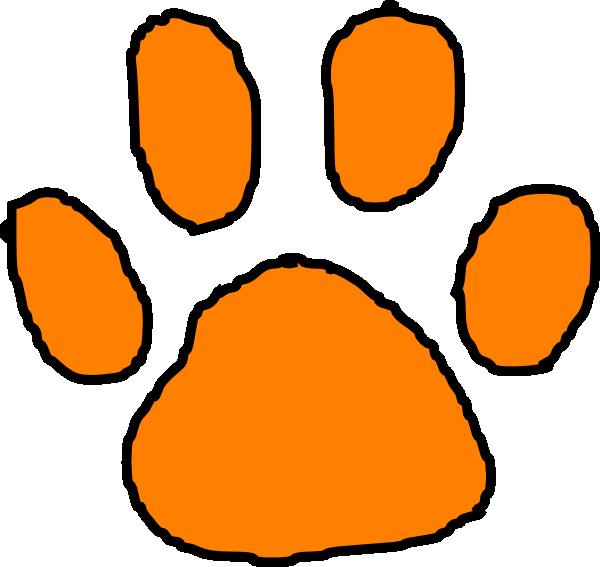 Tiger Print clipart tiger paw #5