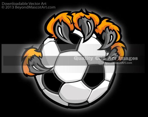 Soccer clipart tiger Tiger Art Art Mascot Art