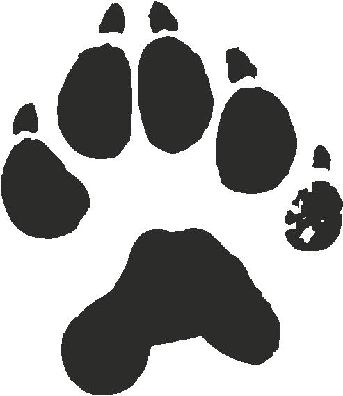 Wolverine clipart paw Wolverine Paw Print cliparts Clipart