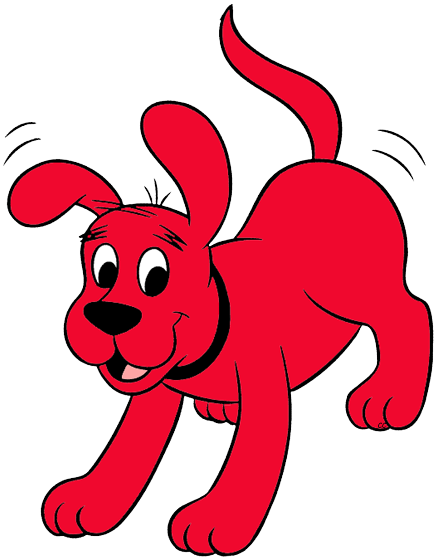 Clifford clipart The big the Clifford Art