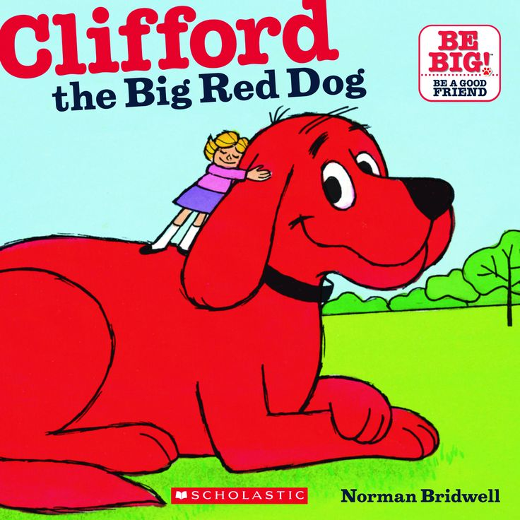 Clifford clipart animated On Red The Big Clifford