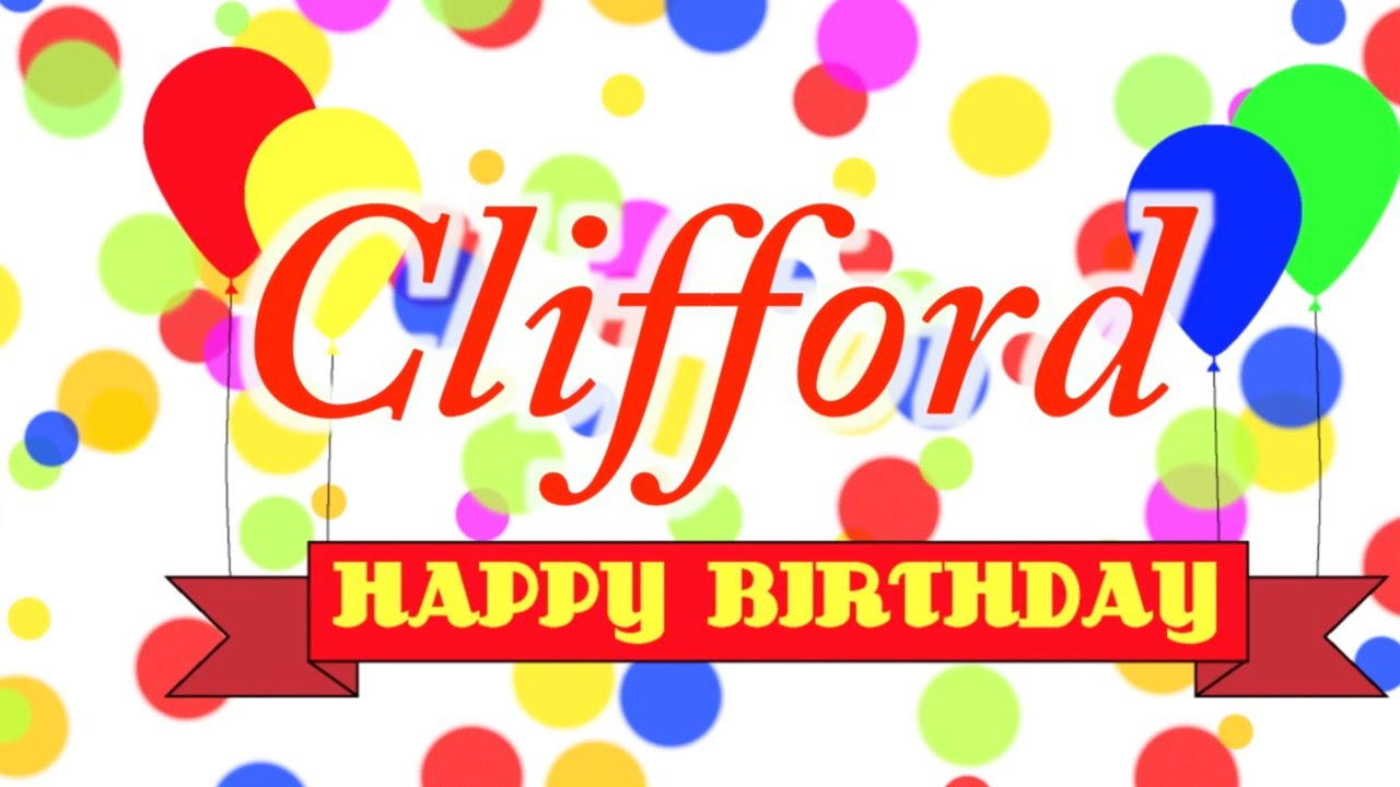 Clifford clipart birthday YouTube Clifford Clifford Song Song