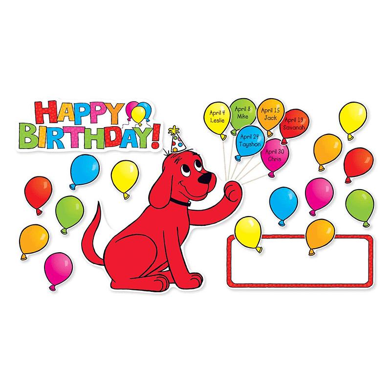 Clifford clipart birthday Com Dog BB SET TeachersParadise