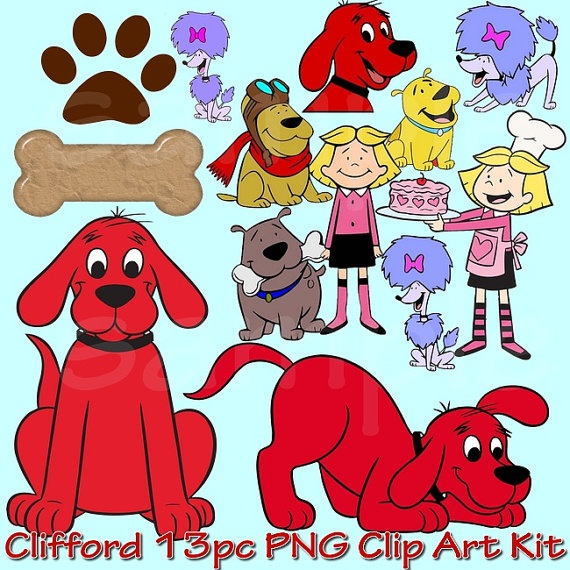 Clifford clipart birthday On THE / Clifford! Pinterest