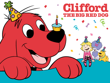 Clifford clipart birthday  For Dog Clifford The