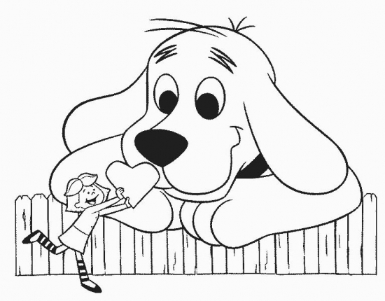 Clifford clipart animated « Red Page Dog