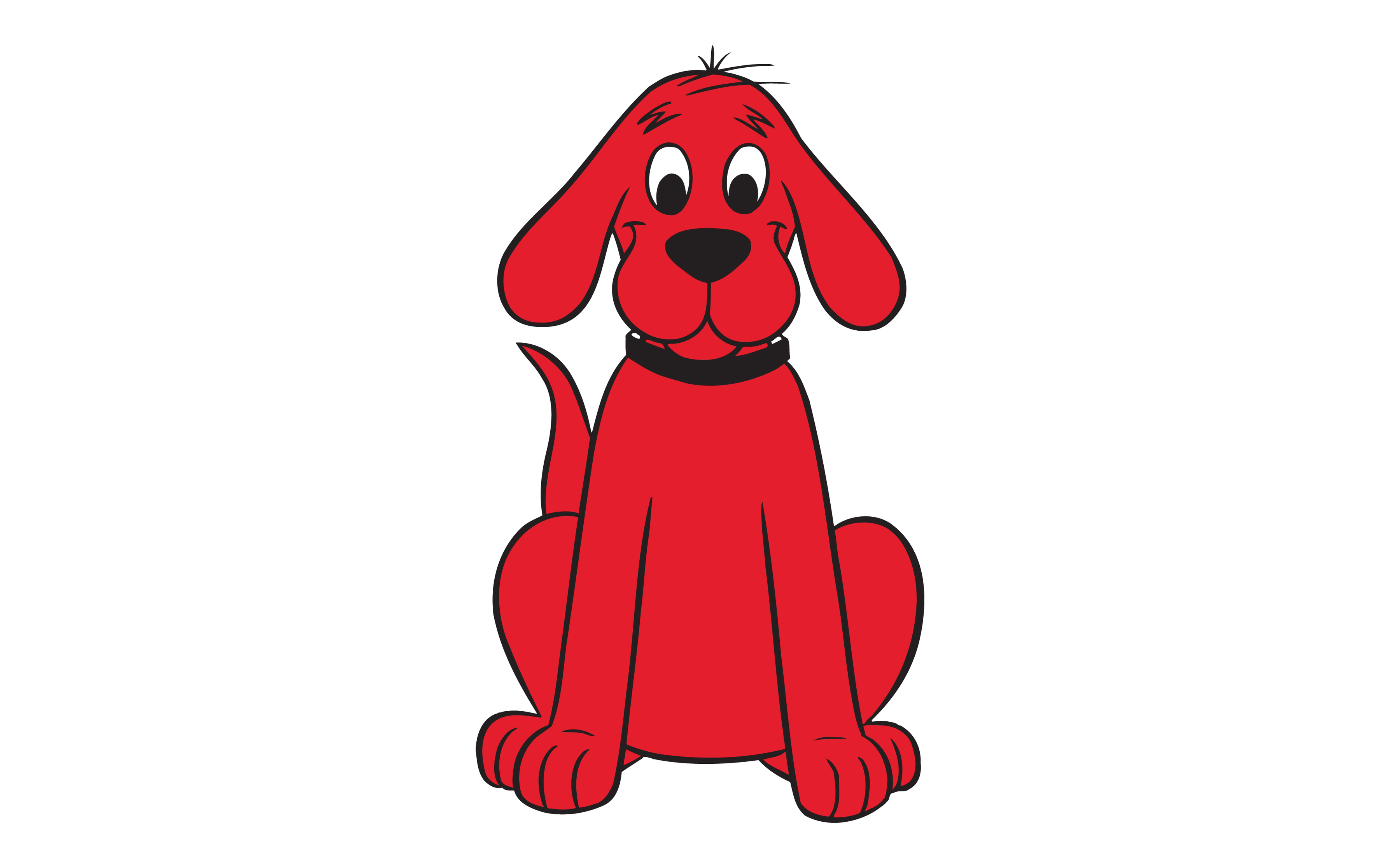 Larger clipart clifford Red of Clip Big Clifford
