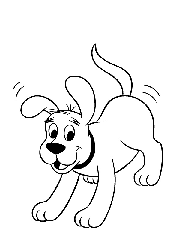 Clifford clipart coloring page Pages best 42 coloring Pinterest