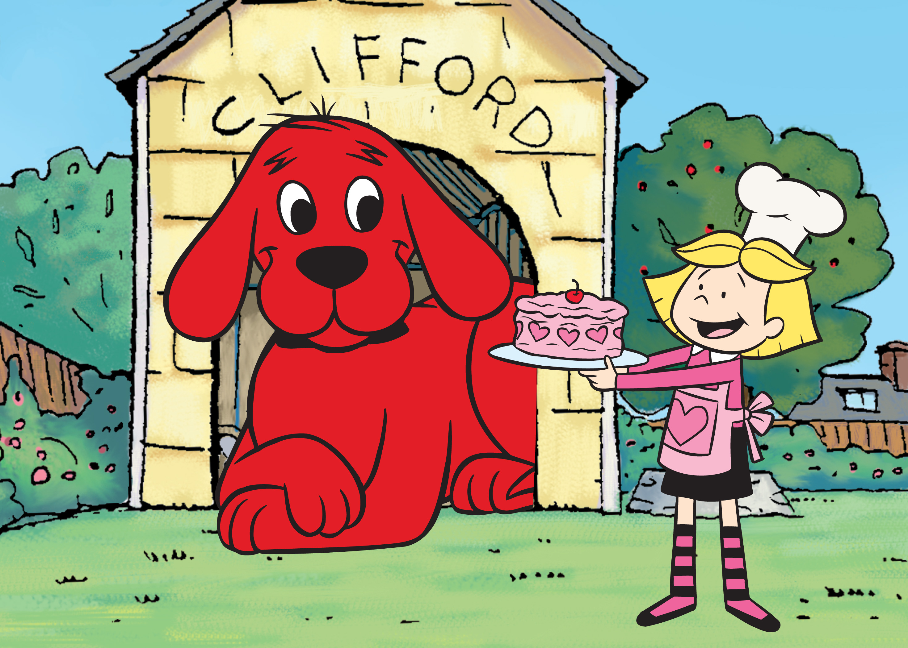 Larger clipart clifford Sue Passed Red Mary The