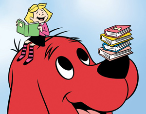 Larger clipart clifford Dog Integrating Classroom: Clifford Red