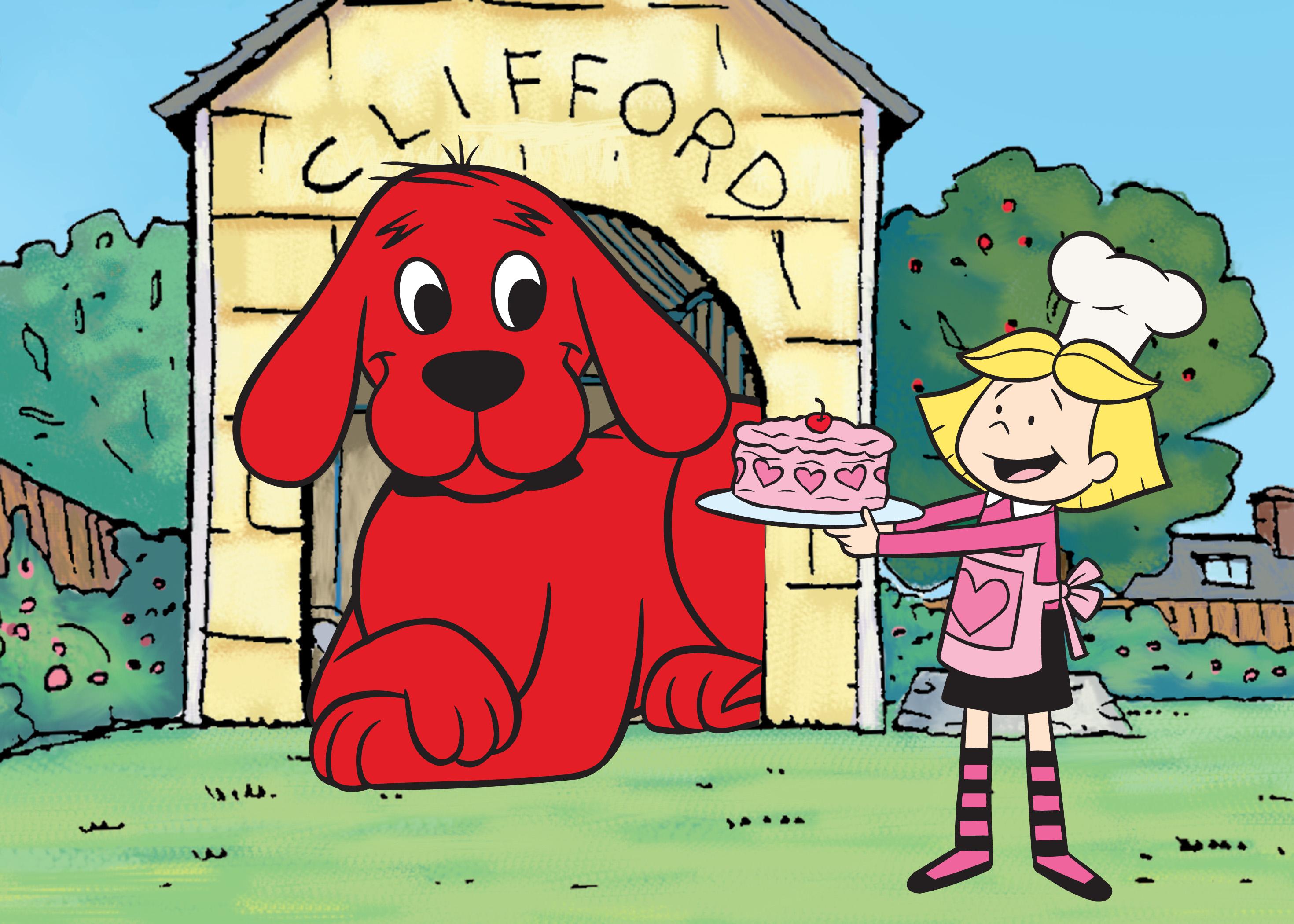 Clifford clipart animated Clifford Dog AD1b Kidz Showz