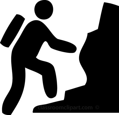 Climbing clipart Search rock Search Symbols for