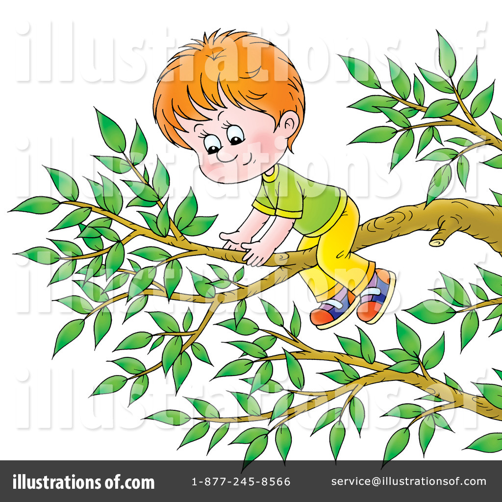 Climbing Tree clipart Illustration Alex #229846 A Free