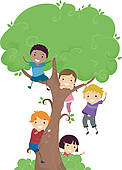 Climbing Tree clipart · GoGraph and pine Kids