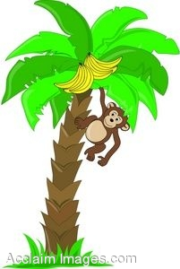 Chimpanzee clipart moneky In monkey%20banana%20clipart Monkey Clipart Free