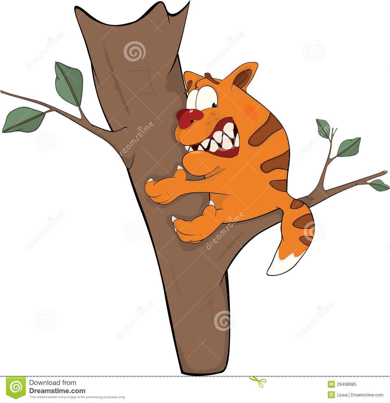 Tree clipart cat #2
