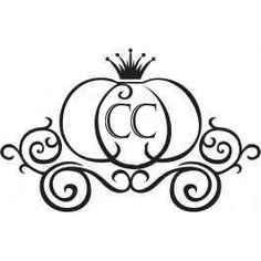 Drawn pumpkin leaf Art Clipart  Carriage Carriage