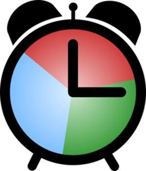 Colouful clipart alarm clock #10