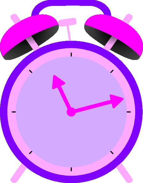 Colouful clipart alarm clock #11