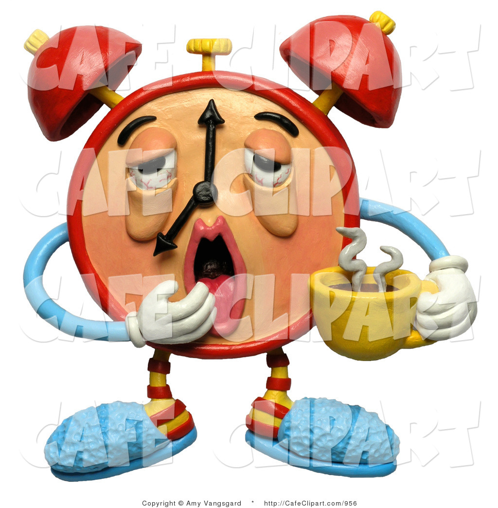 Yawn clipart tired kid Free Coffee Tired 3d Drooping