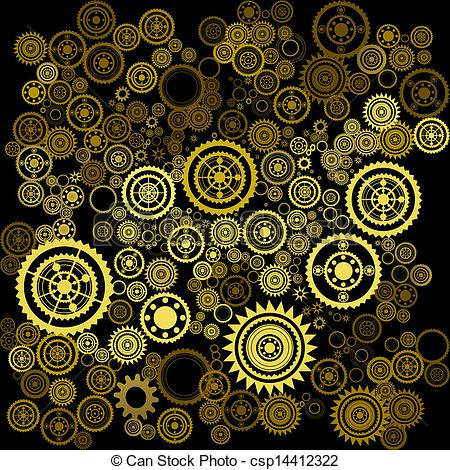 Clockworks clipart #7