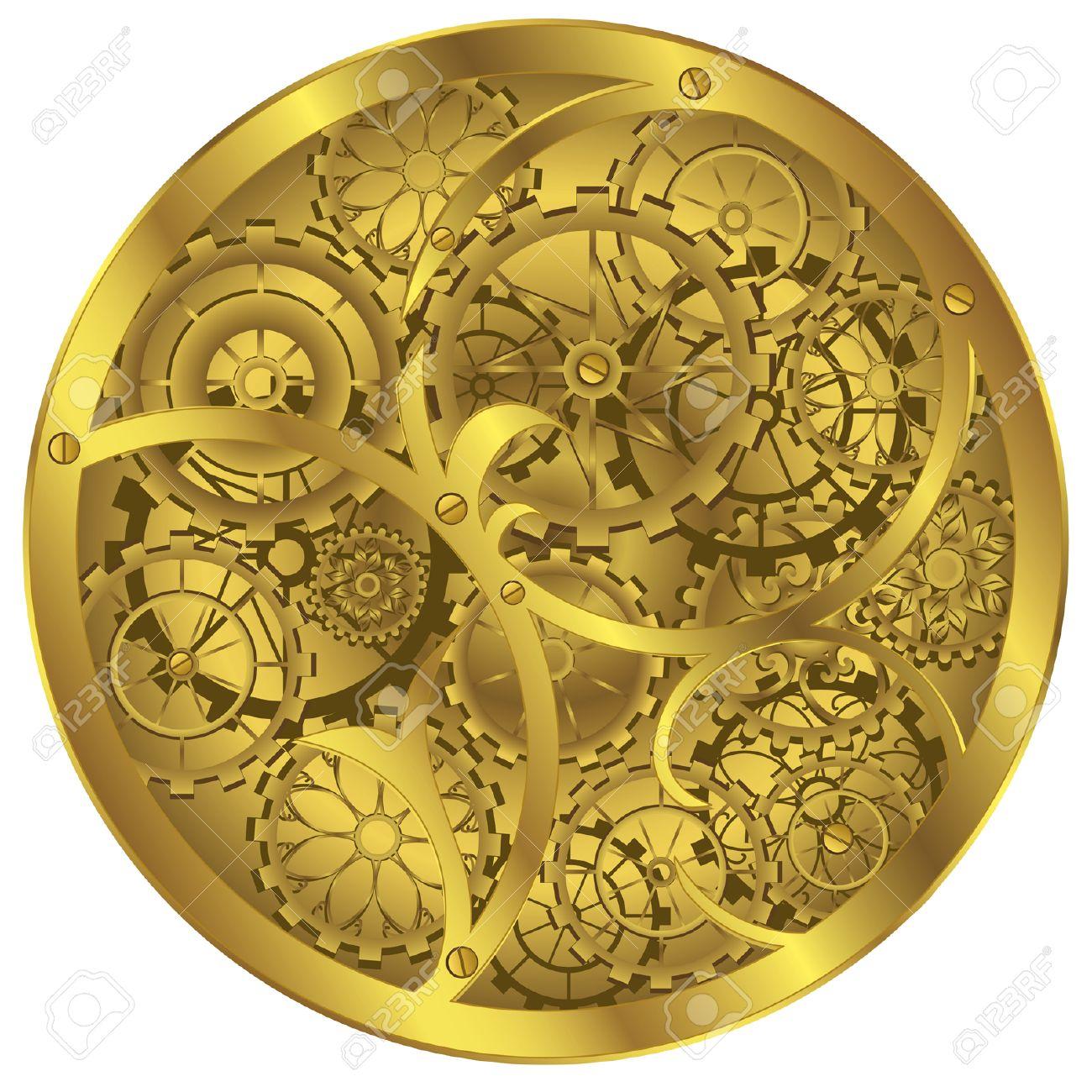 Clockworks clipart #11