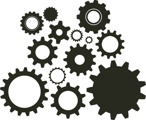 Gears clipart brain idea About gears on DIY cogs