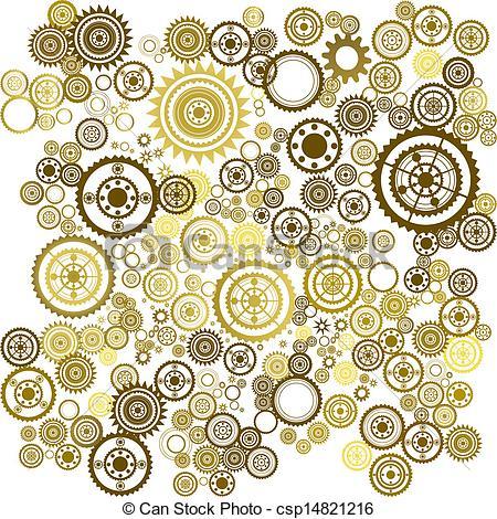Clockworks clipart #6