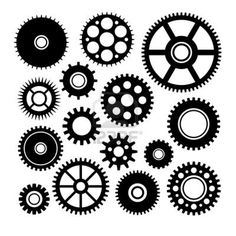 Clockworks clipart Of gears Gear and 19599437