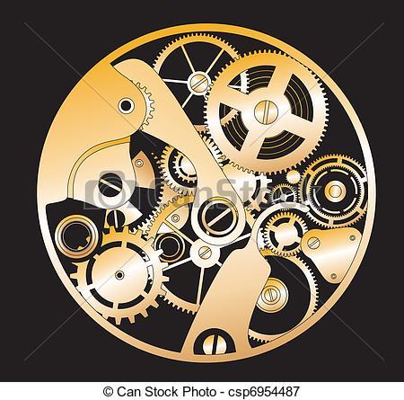 Clockworks clipart #10