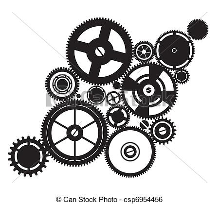 Clockworks clipart #4