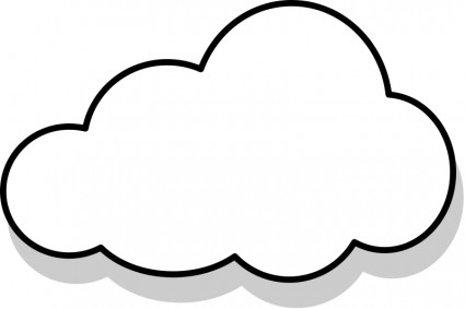 Dream clipart i think Free cloud%20clipart Panda Clipart Cloud