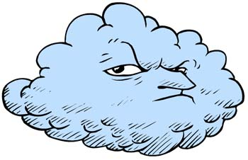 Wind clipart angry cloud For is Fire Kids for;