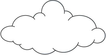 Clouds clipart line art Transparent Clipartix clipartio 9 Cloud