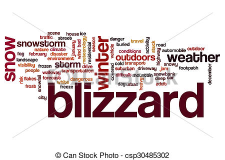 Clouds clipart blizzard Clipart Stock word Blizzard free