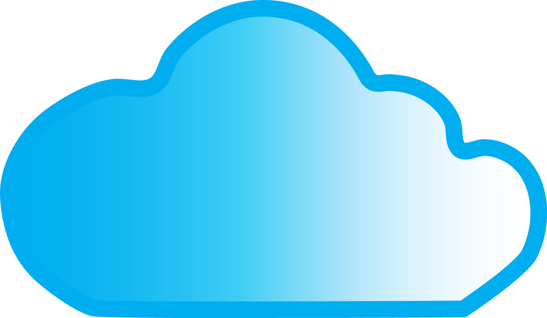 Clouds clipart green Blog vector pdclipart do free