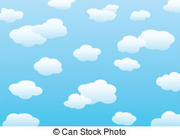 Clouds clipart blue background  frbird116/7 for background Clipart