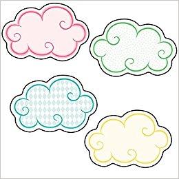 Clouds clipart carson dellosa Com: Books Carson Cut Away