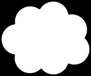 Clouds clipart cloud shape Com Cloud clip Clip Art