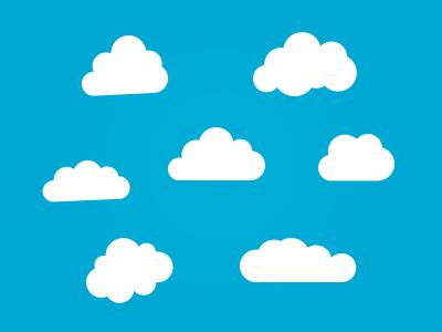 Clouds clipart cloud shape Me Awesome cloud shapes Awesome