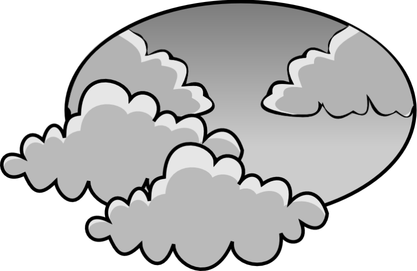 Clouds clipart cloudy weather Clipart Clipart Cloudy schliferaward com