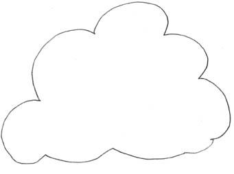 Clouds clipart line art Clipart Free Clip Cloud Art