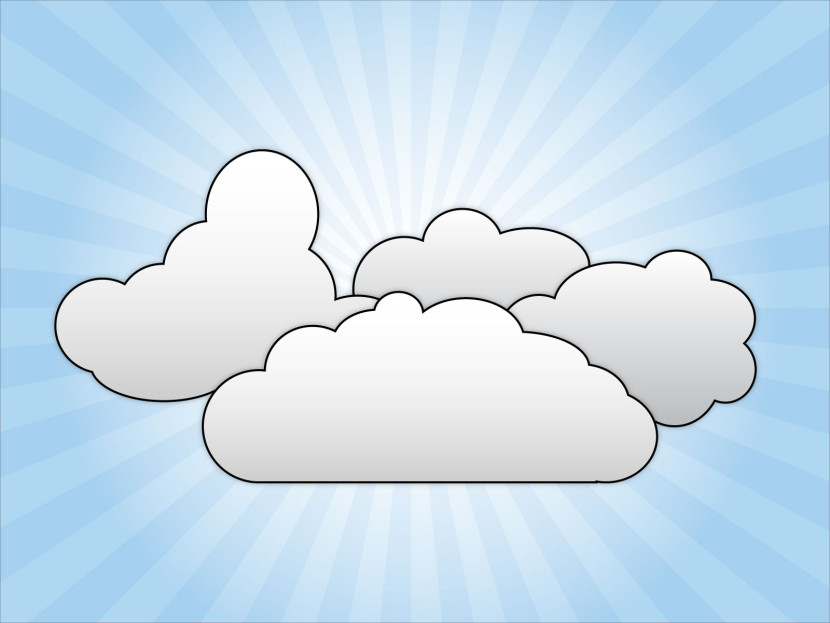 Clouds clipart simple Clip Cliparti1 Clipartion Art Clouds