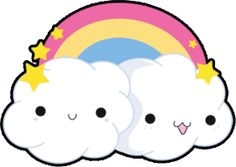 Clouds clipart cute Cute Art Clip Kawaii Cliparts